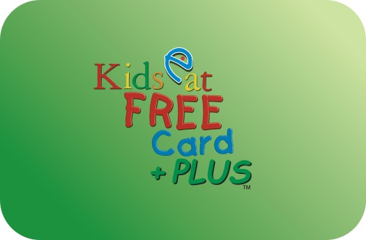 Kids Eat Free Card City Hopper